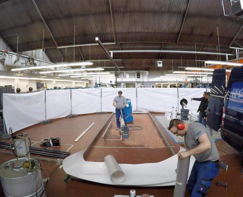Errichtung eines Scheinwerfereinstellplatz KFZ, PKW, NF, LKW