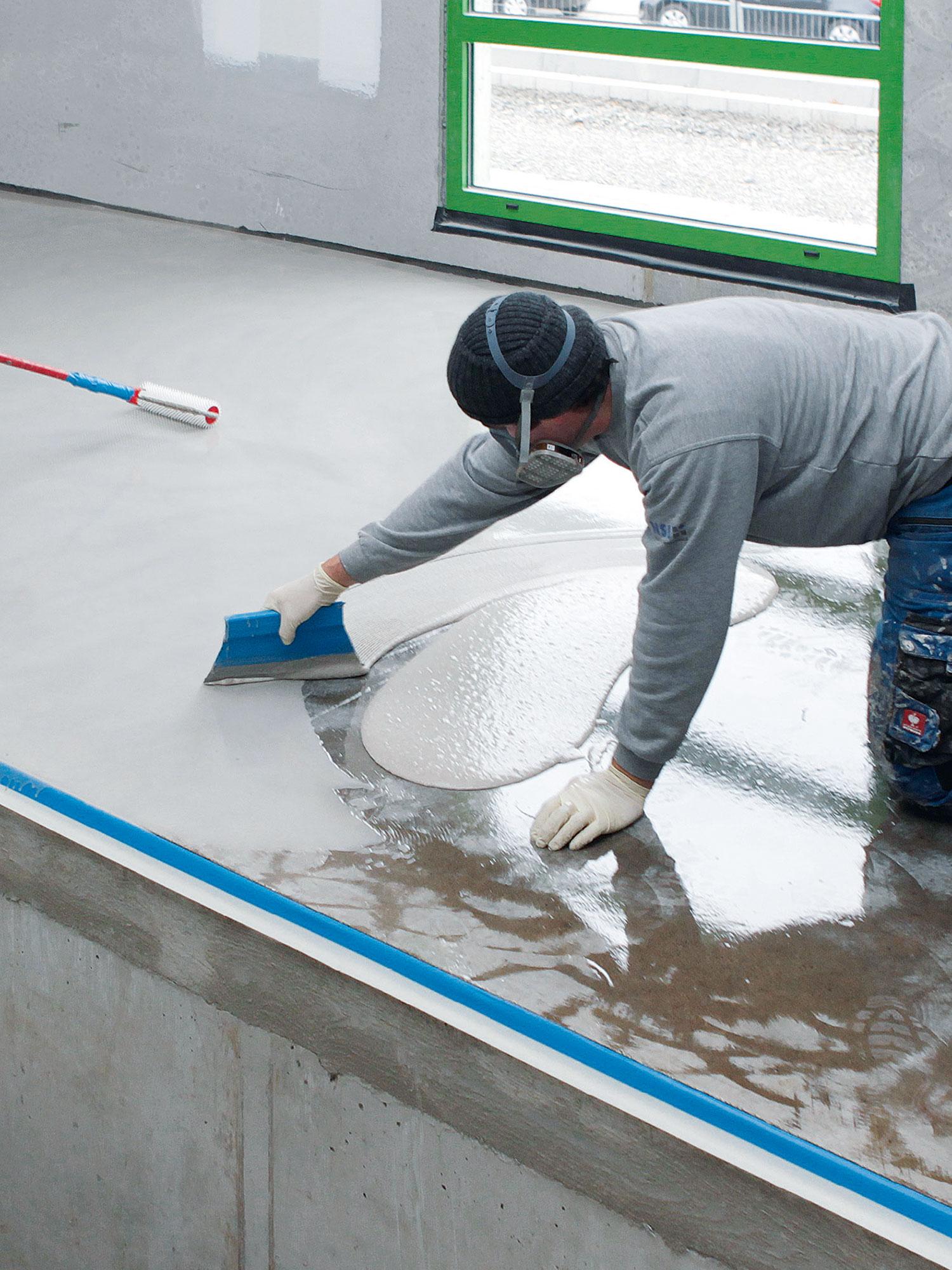NSI PHG Sanierung Waschstrasse Waschhalle Bodenbelag Detail